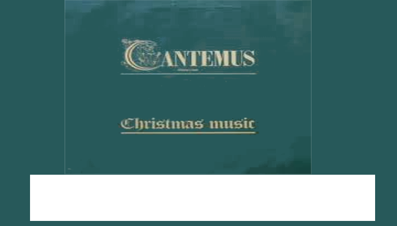 Cantemus Christmas Concert 13th December