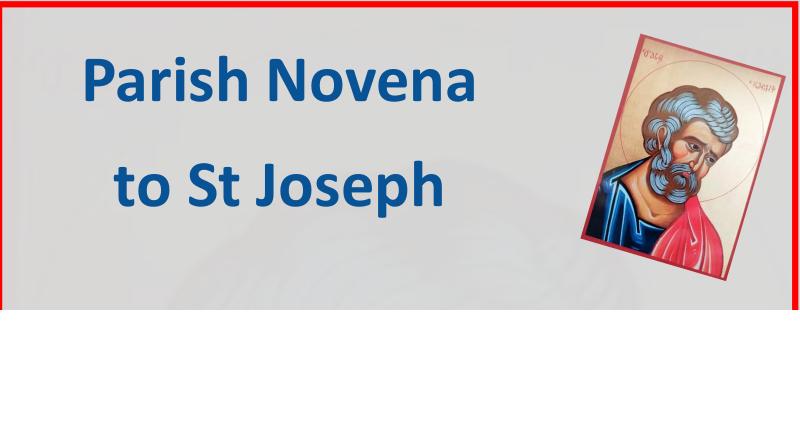 Year of St Joseph Novena